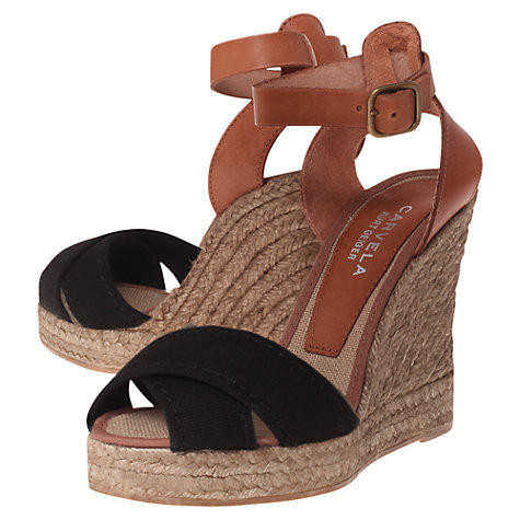 Buy Carvela Kilo Wedged Sandals Online at johnlewis.com