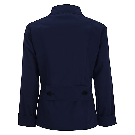Buy Water Off A Duck's Back Summer Cycle Jacket, Navy Online at johnlewis.com