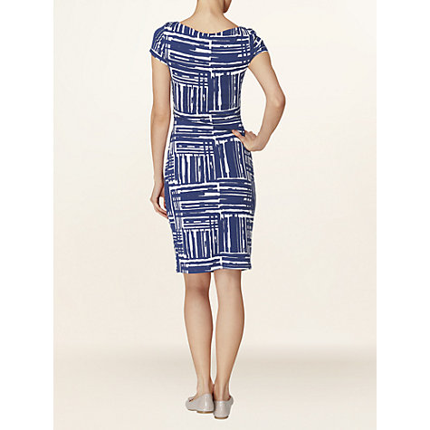 Buy Phase Eight Shania Shift Dress, Blue/White Online at johnlewis.com