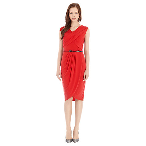 Buy Coast Renee Dress, Orange Online at johnlewis.com