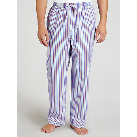 Buy Polo Ralph Lauren Poplin Striped Lounge Pants Online at johnlewis.com