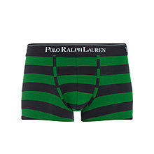 Buy Polo Ralph Lauren Cotton Stripe Trunks Online at johnlewis.com