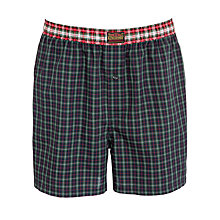 Buy Polo Ralph Lauren Woven Cotton Boxers, Green Online at johnlewis.com