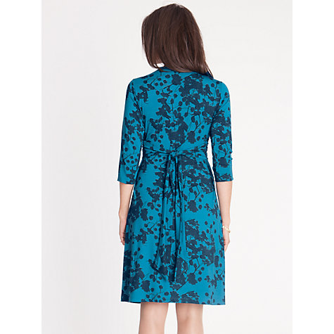 Buy Seraphine Blossom Dress, Teal Online at johnlewis.com