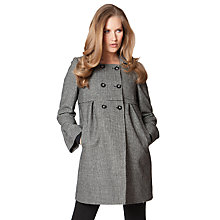 Buy Séraphine Cara Maternity Coat, Grey Online at johnlewis.com