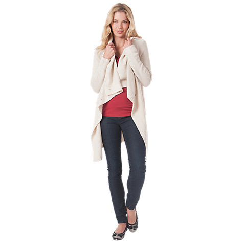 Buy Seraphine Denver Cardigan, Vanilla Online at johnlewis.com