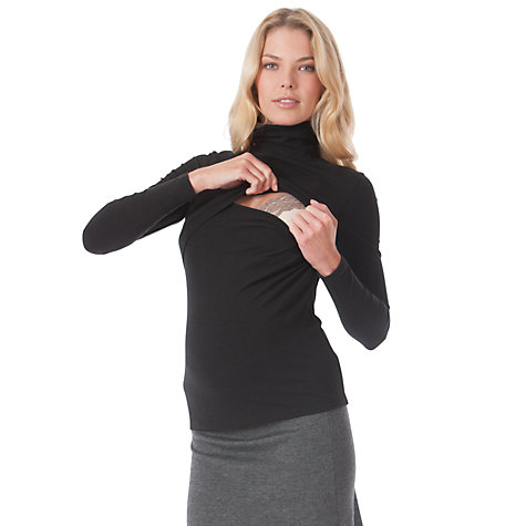 Buy Séraphine Rosanne Top, Black Online at johnlewis.com