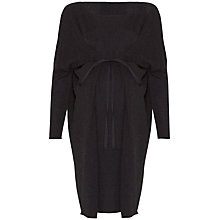 Buy Séraphine Iveta Knit Maternity Dress, Charcoal Online at johnlewis.com