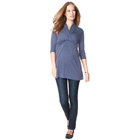 Buy Seraphine Drew Jeans, Indigo Online at johnlewis.com