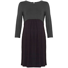 Buy Séraphine Kitty Maternity Dress, Grey/Black Online at johnlewis.com