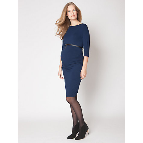 Buy Séraphine Tessa Dress, Navy Online at johnlewis.com