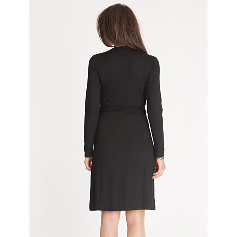 Buy Séraphine Renee Maternity Dress, Black Online at johnlewis.com