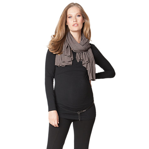Buy Séraphine Madison Maternity/Nursing Shawl, Brown Online at johnlewis.com