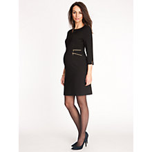 Buy Seraphine Audrey Dress, Black Online at johnlewis.com