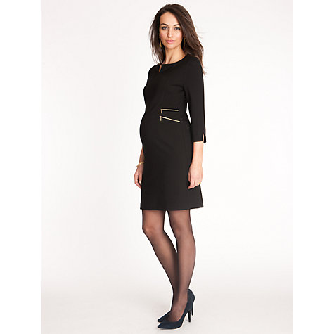 Buy Séraphine Audrey Maternity Dress, Black Online at johnlewis.com