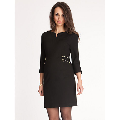 Buy Séraphine Audrey Dress, Black Online at johnlewis.com