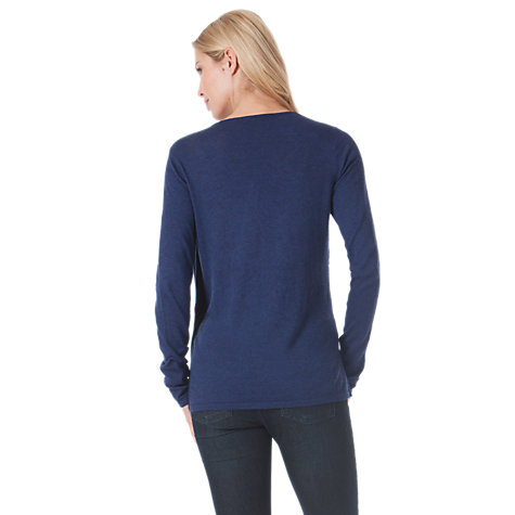 Buy Seraphine Natalie Jumper, Indigo Online at johnlewis.com