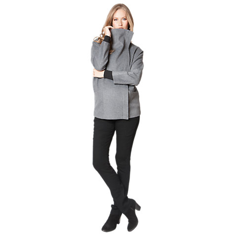Buy Séraphine Shakira Maternity Coat, Grey Online at johnlewis.com