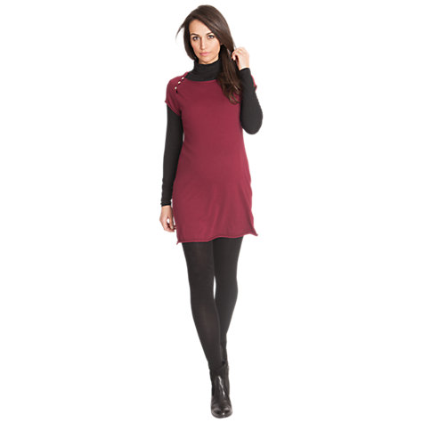 Buy Séraphine Violeta Knitted Dress, Red Online at johnlewis.com