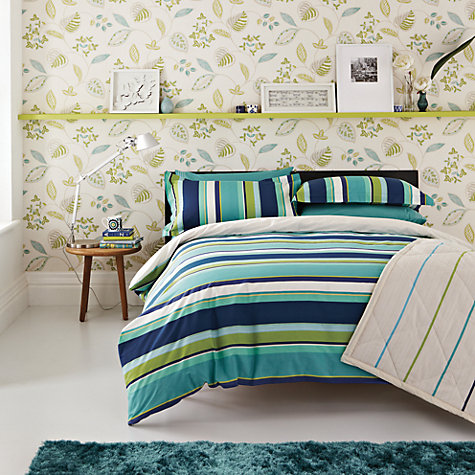 Buy Harlequin Bonita Stripe Duvet Cover and Pillowcase Set Online at johnlewis.com