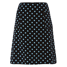 Buy Hobbs Byrony Skirt, Navy/Multi Online at johnlewis.com