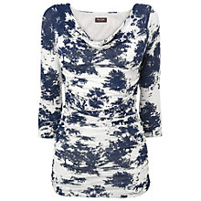 Buy Phase Eight Tallie Top, Navy / Ivory Online at johnlewis.com