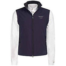 Buy Hackett London Aston Martin Racing Soft Shell Gilet, Navy Online at johnlewis.com