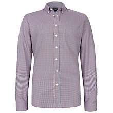 Buy Hackett London Gingham Long Sleeve Shirt Online at johnlewis.com