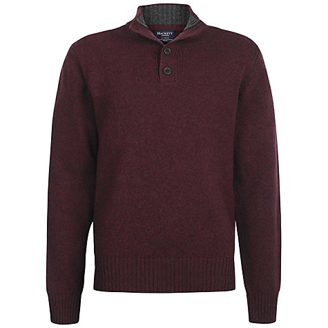 Buy Hackett London Moulin Lambswool Jumper Online at johnlewis.com