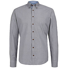 Buy Hackett London Medallion Print Shirt, Blue Online at johnlewis.com