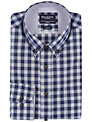 Hackett London Plaid Shirt, Blue