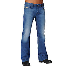 Buy Diesel Zathan Bootcut Jeans Online at johnlewis.com
