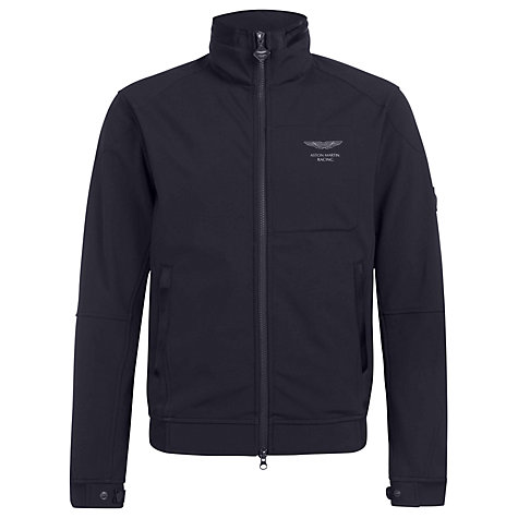 Buy Hackett London Aston Martin Racing Soft Shell Jacket, Navy Online at johnlewis.com