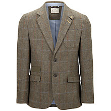 Buy Selected Homme Truman Blazer, Brown Check Online at johnlewis.com