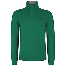Buy Hackett London Lambswool Half Zip Jumper Online at johnlewis.com