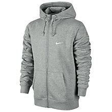 Buy Nike Club Full-Zip Hoodie Online at johnlewis.com