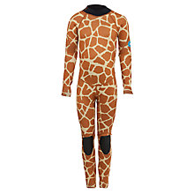 Buy Saltskin Children's Full Length Wetsuit, Giraffe Print Online at johnlewis.com