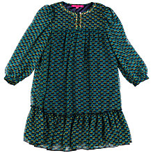 Buy Derhy Kids Amaelle Voile Dress, Green Online at johnlewis.com