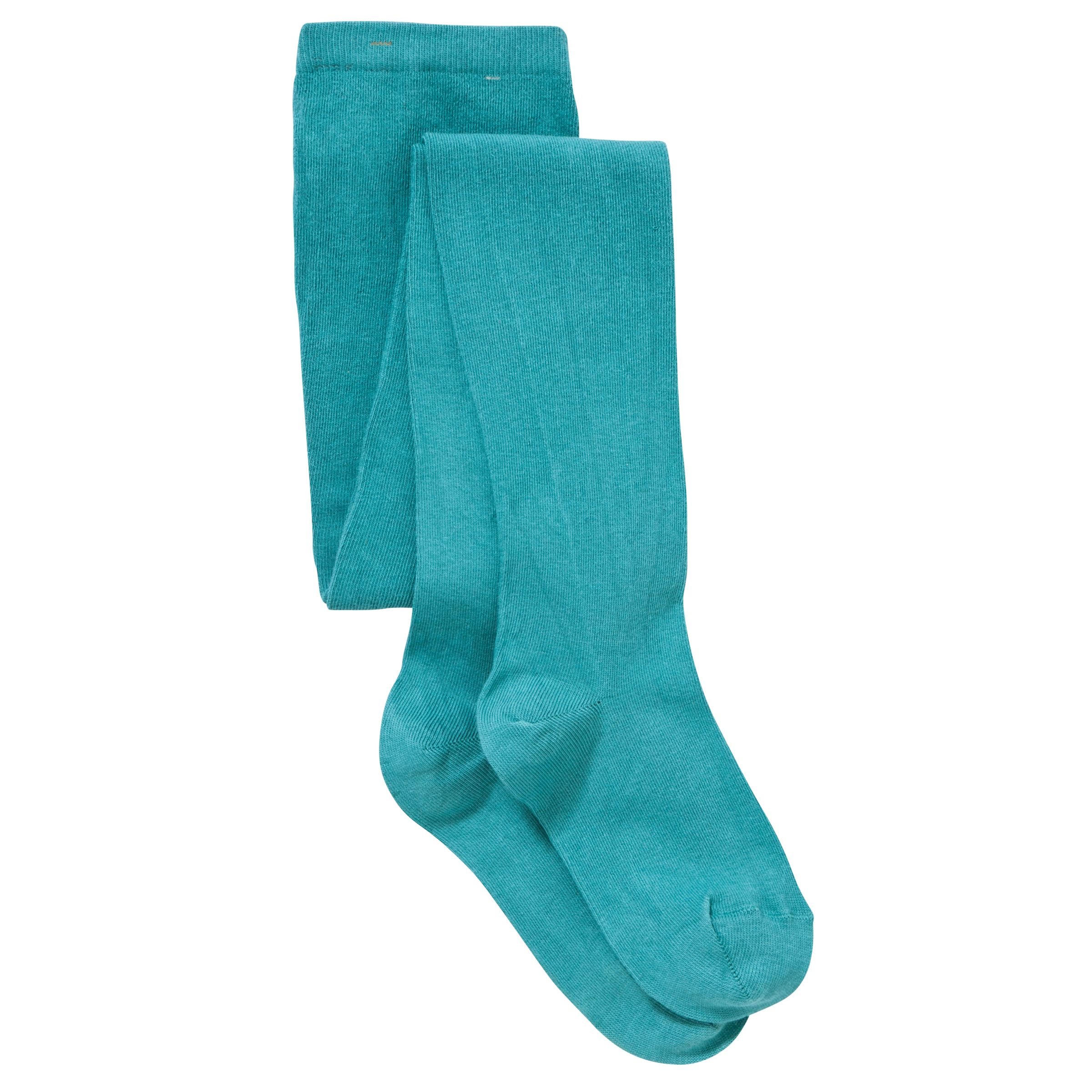 John Lewis Girl Tights, Turquoise