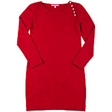 Buy Derhy Kids Knitted Abelle Dress, Red Online at johnlewis.com