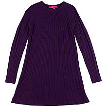 Buy Derhy Kids Abelia Pleated Dress, Violet Online at johnlewis.com