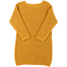 Buy Derhy Kids Aelia Jumper Dress, Yellow Online at johnlewis.com