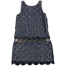 Buy Derhy Kids Arielle Dress, Navy Online at johnlewis.com
