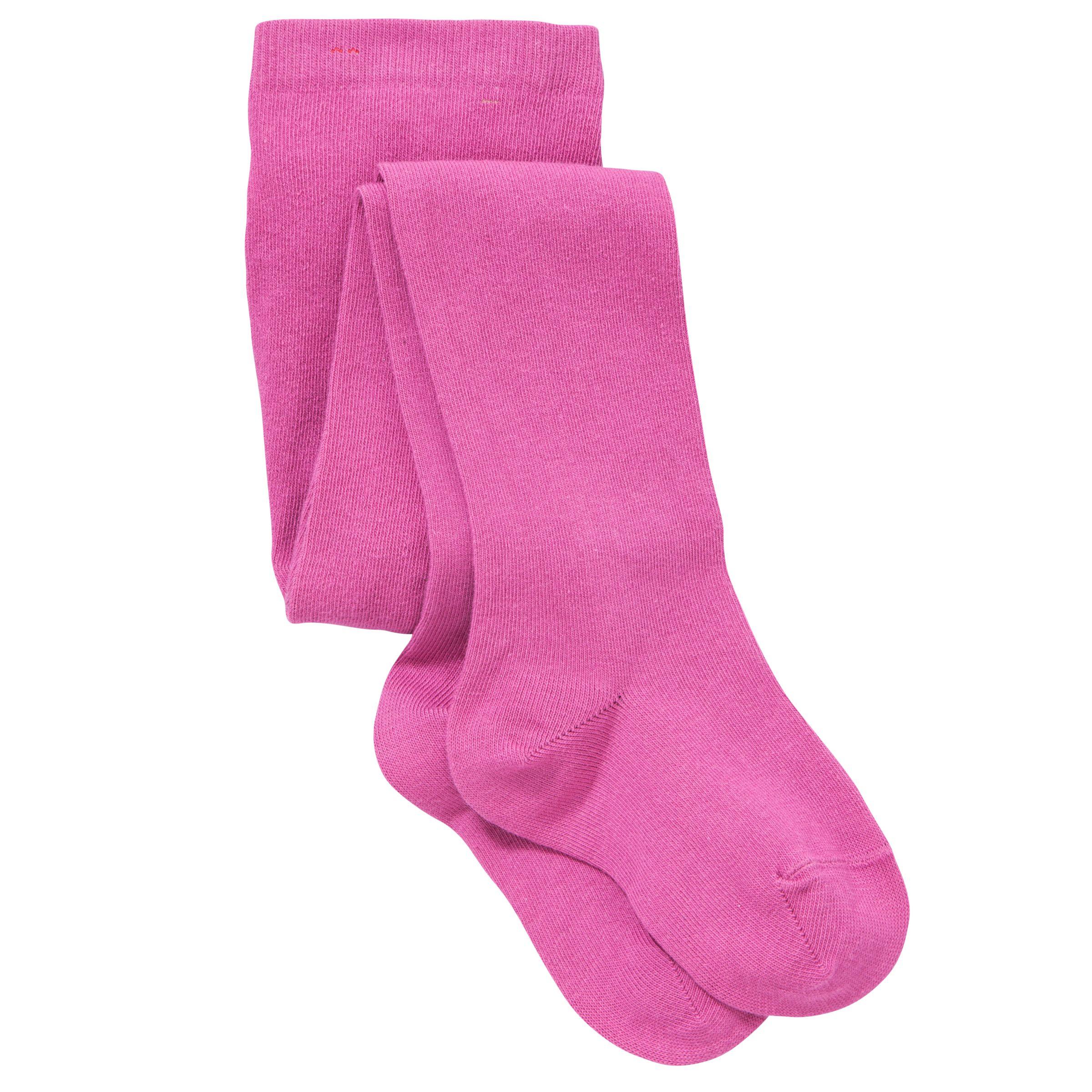 John Lewis Girl Tights, Pink
