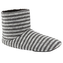 Buy John Lewis Brushed Wool Slippers, Grey Online at johnlewis.com