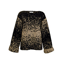 Buy Paul & Joe Sister Oversized Speckled Knit Jumper, Navy Online at johnlewis.com