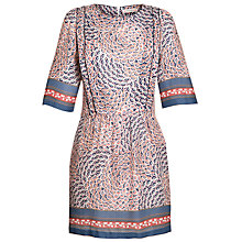 Buy Paul & Joe Sister Printed Dress, Navy Online at johnlewis.com