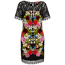 Buy Derhy Lace Embroidered Dress, Noir Online at johnlewis.com