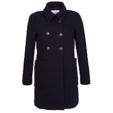 Buy Paul & Joe Sister Double Breasted Coat, Navy Online at johnlewis.com