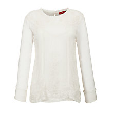 Buy Derhy Lace Cami Blouse, Beige Online at johnlewis.com